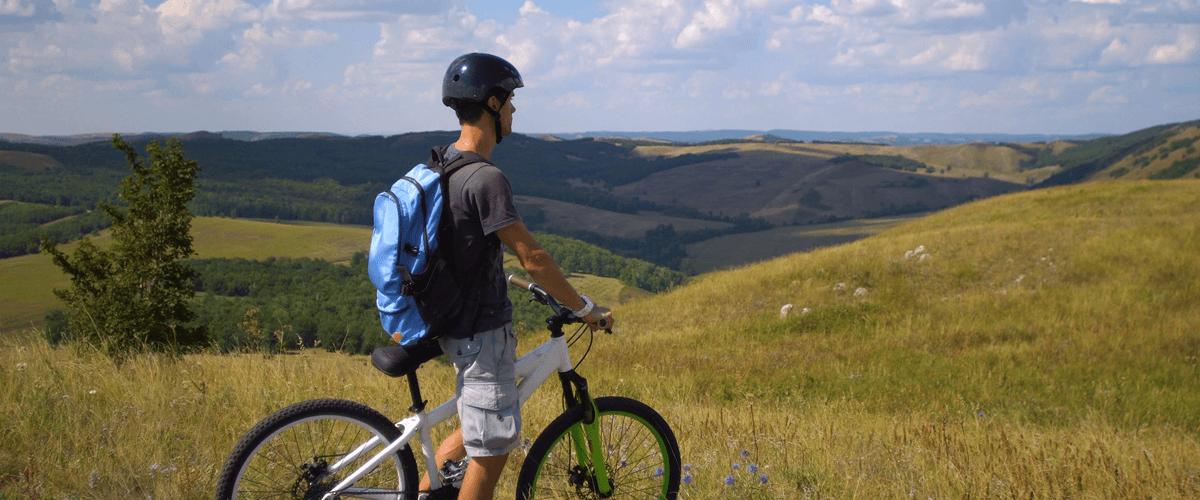 До знамето на Сопотската скала с колело за 3 март